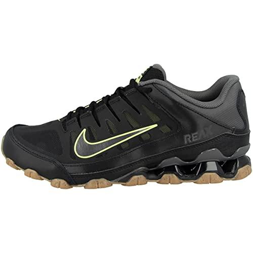 Nike Low Reax 8 TR Mesh - Zapatillas deportivas para hombre, Black Limelight Gum Light Brown Iron Grey, 47 EU