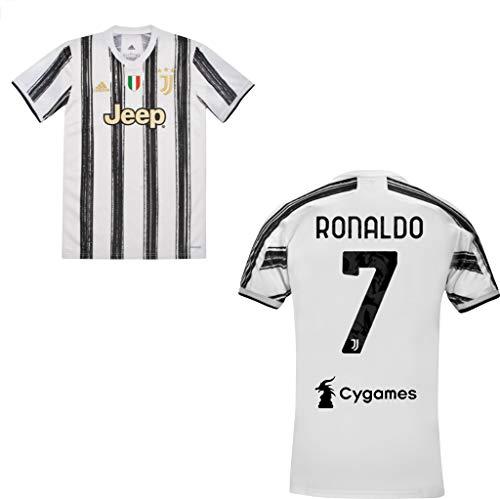 "MAESTRI DEL CALCIO Maglia Gara Home F.C. Juventu Juv 2020/2021""Ronaldo 7"" Originale"