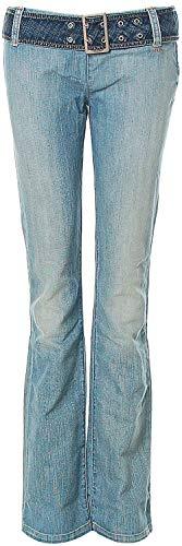 Killah Jeans Hose Regular Slim Gürtel W28 L36 Light Blue California