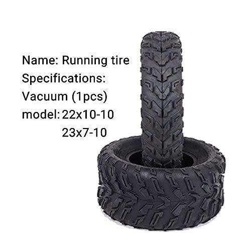 Neumáticos de Scooter eléctrico, neumáticos de SUV 23X7-10, neumáticos de vacío ATV 22X10-10, Resistentes al Desgaste y al Deslizamiento, adecuados para Carreteras con Barro en la Playa, Neu