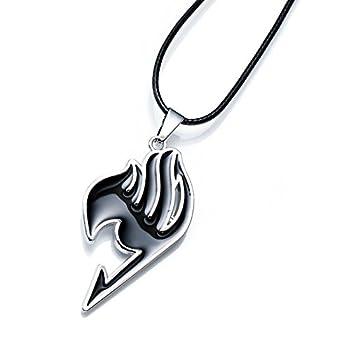 New Anime Fairy Tail Magic Association s Symbol 4 Colors Alloy Necklace Pendent U Pick  Black