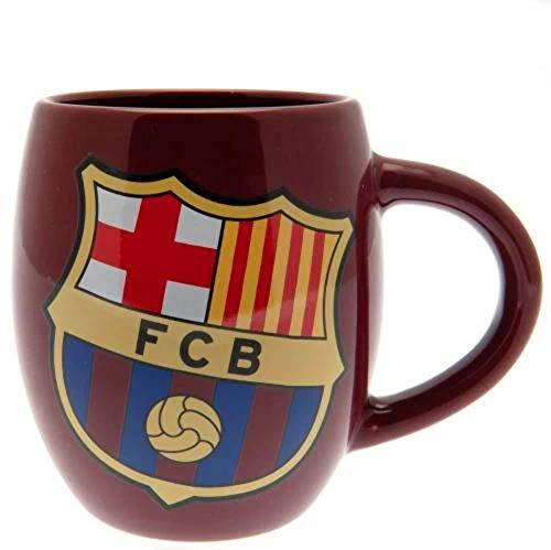 Barcelona FC Blue Red Tea Tub Football Club Crest Fan Gift Boxed...