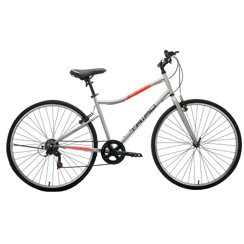 Triad X2-7 Speed - Fully Fitted Hybrid Bicycle (Matte Grey, Ideal for:...
