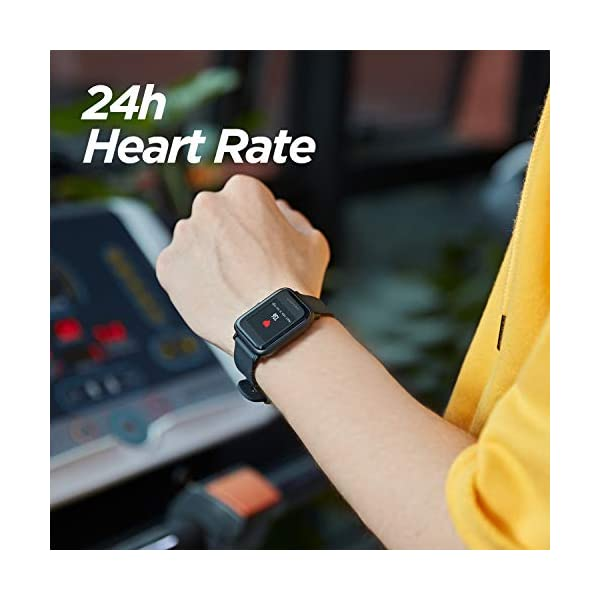 Amazfit BIP Lite Smart Watch- Blue (UP to 45 Days Battery Life_3 ATM) 2 413uuaEPEsL