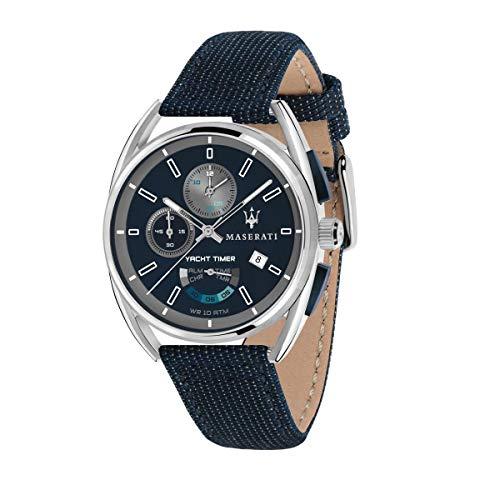 Reloj para Hombre, Colección TRIMARANO, en Acero, Cuero - R8851132001