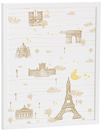 Eiffel Baby France Cadre Beige 40 x 50 cm