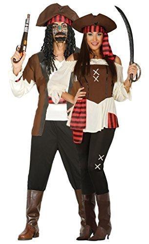 Couples da donna e da uomo Seven Seas pirata pirati TV film corrispondenza Fancy Dress Costumes Outfits