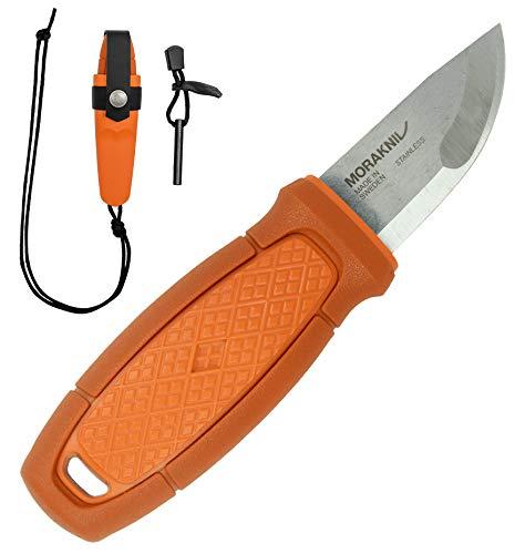 モーラナイフ Morakniv Eldris Neck Knife Kit Burnt Orange