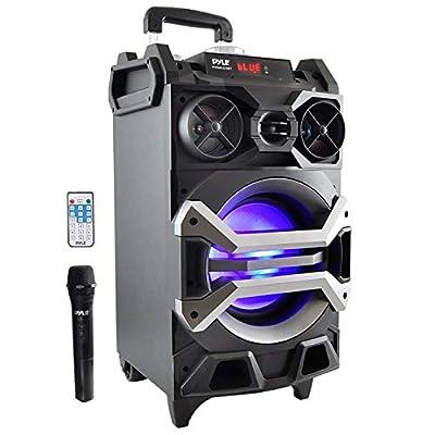 Pyle 500 Watt Outdoor Portable Bluetooth Karaoke Speaker System