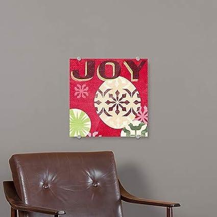 16x16 June VessLets Get Jolly IV Premium Acrylic Sign CGSignLab