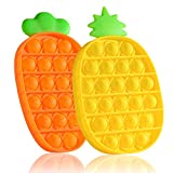 GREAT FIDGET TOY : Squeeze it, pop, pop, pop… popping sounds can make people happy, relax, brain break and keep focused. A sensory toy is good to relieve anxiety and stress. It's helpful for kids with ADD/ADHD, Autism, OCD, or people with high anxiet...