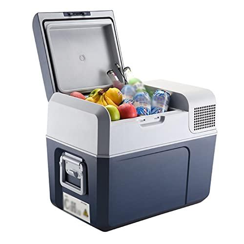 KLMN Portable Refrigerator for Car,Car Freezer Fridge Portable Refrigerator with Compressor Cooler for Home and Travel Camping Low Noise 12V/24V/220V,40L