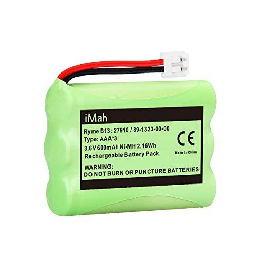 iMah 27910 Cordless Phone Battery Pack Compatible with AT&T 89-1323-00-0 Motorola SD-7501 Vtech 27910 I6725 RadioShack 23-959 Home Handset 3.6V Ni-MH, Pack of 2 Photo #4