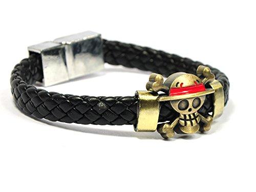 CoolChange One Piece Armband Jolly Roger der Strohhut Bande