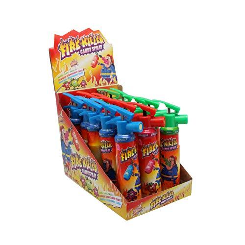 Fire Killer Candy Spray, Süßwaren-Spray, 15 Stück x 25 ml Verkaufsdisplay