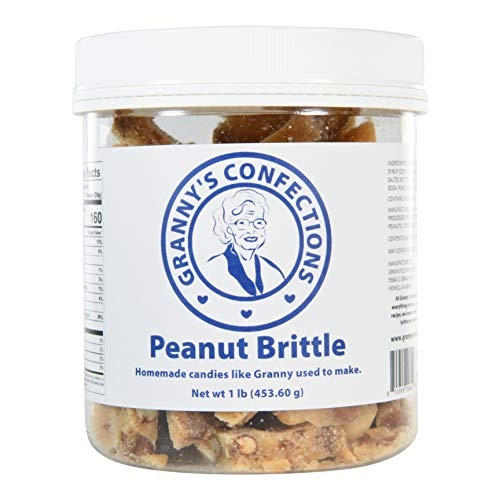 Our #5 Pick is the Granny's Confections Peanut Brittle