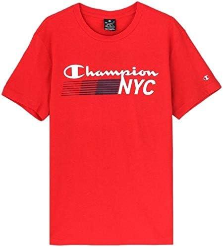 Champion NYC Camiseta Manga Corta para Hombre - algodón