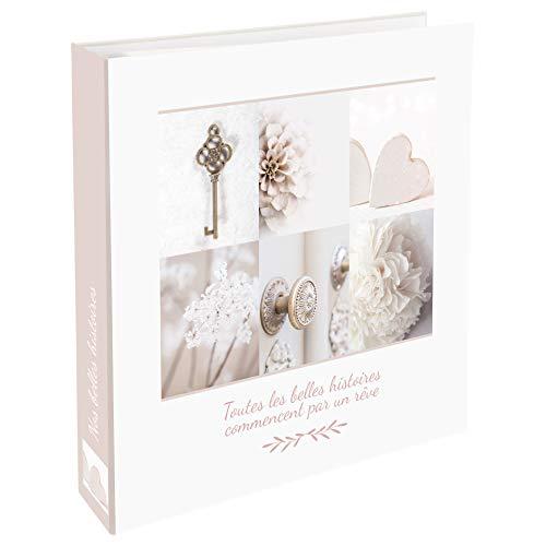 WEB2O Album Photo Grand Format - 500 Photos - 10x15 cm - Collection Mariage