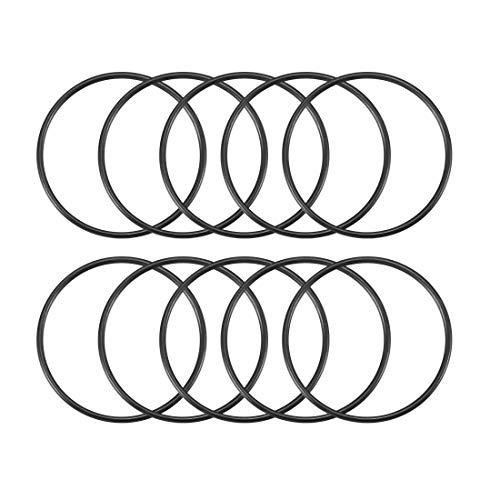 10 stk schwarz Öl Gummidichtung O Ring Dichtung Waschmaschinen 34 x 31 x 1,5 mm DE de
