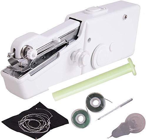 Draagbare huishoudelijke lichtgewicht 1PCS / Handheld Mini-naaimachine Draadloos elektrisch gereedschap voor snel onderhoud DIY Family Travel Sewing