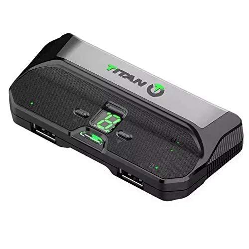 Fauge Adaptador Convertidor de Teclado de RatóN para Controlador Two para PS4 Pro Slim/One / XBOX360 / PS4 / PC/NS Switch