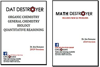 2019 DAT Destroyer 2019 Math Destroyer 2 books - Direct from the publisher Orgoman!
