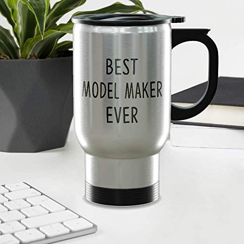 Funny Gift For MODEL MAKER 14oz Stainless Steel Travel Mug - Best MODEL MAKER Ever