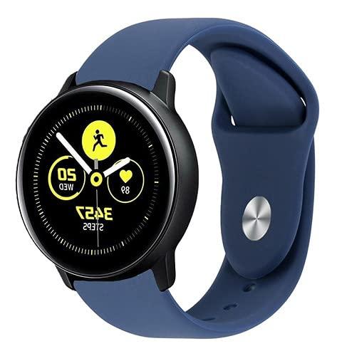 Pulseira Silicone Samsung Active 1 / 2 Azul Marinho - (C7COMPANY)
