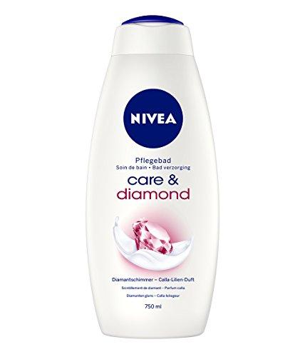 Nivea Care & Diamond Cremebad, 750 ml