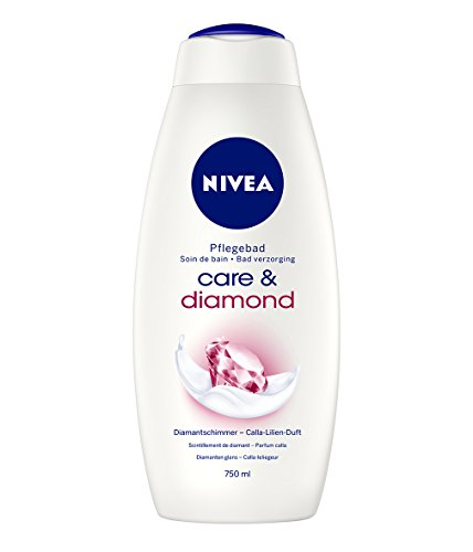 Nivea Care & Diamond Cremebad, 2er Pack (2 x 750 ml)