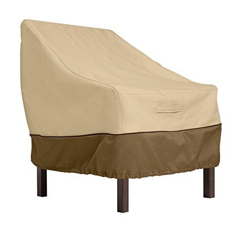 Classic Accessories - Abdeckhaben für Stühle in Beige, Größe 78,73 x 26,67 x 7,62 cm