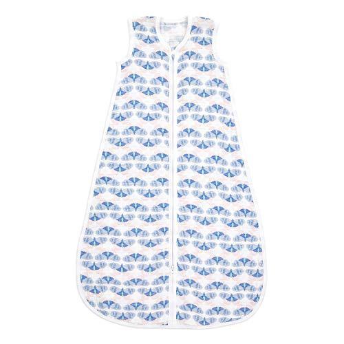 aden + anais Saco de dormir ligero de muselina de algodón 1,0 tog, deco (18-36 meses), 100% algodón