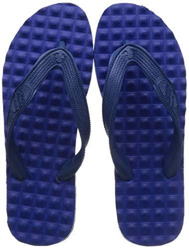 BATA Men Health Hawai Blue Flip-Flops-9 Kids UK (8779417)