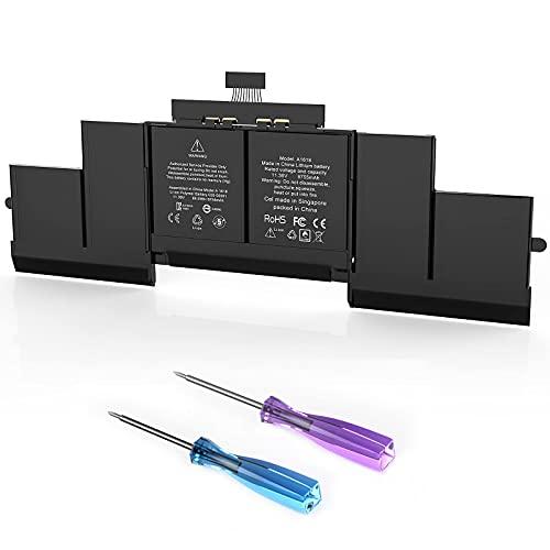 Batería para portátil A1618 para MacBook Pro 15 Pulgadas Retina A1398 Mid 2015 EMC 2909 2910 MJLQ2LL / A MJLT2LL / A-Alta Capacidad [95Wh / 8755mAh / 11.36V]