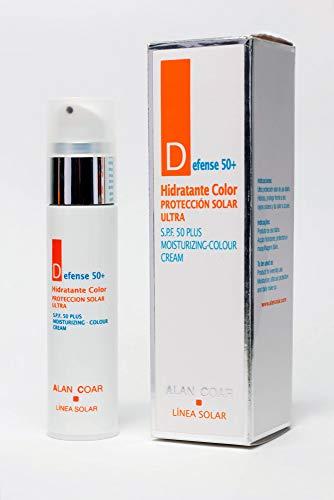 Alan Coar, Defense 50+ con color (FPS 50 +) - 50 ml.