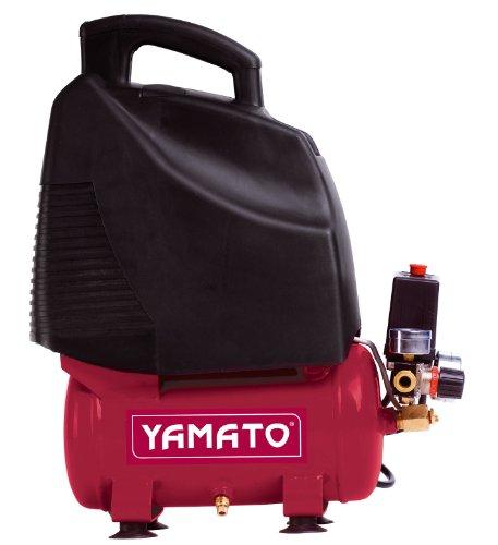 Yamato 92845 Compressore Oil-Less, 6/1,5M1D, 6 L, Rosa/Nero