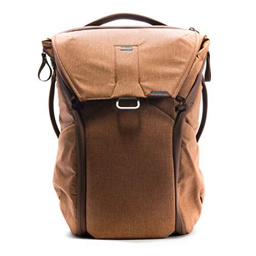 Peak Design Everyday Rucksack 20 l (Nylon, Braun, Uniform, 400 D, Unisex, 38,1 cm (15 Zoll)