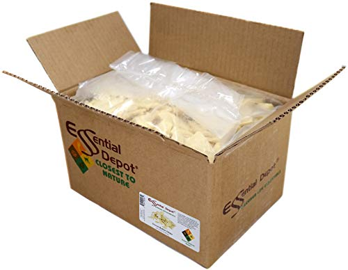 Cocoa Butter Chips - Organic - Unrefined - 8 lbs net wt