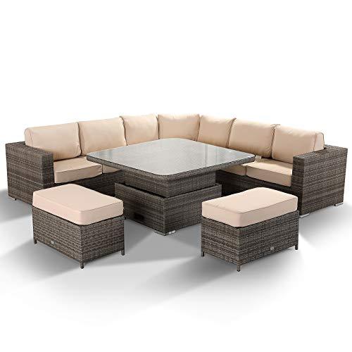 Rattan Park Winchester Large Corner Sofa Set