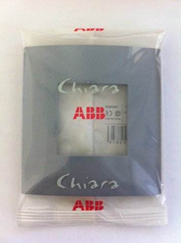 ABB Placca 2 moduli, colore bianco