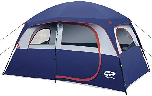 CAMPROS Tent 6 Person Camping Tents Waterproof Windproof Family Tent with Top Rainfly 4 Large product image