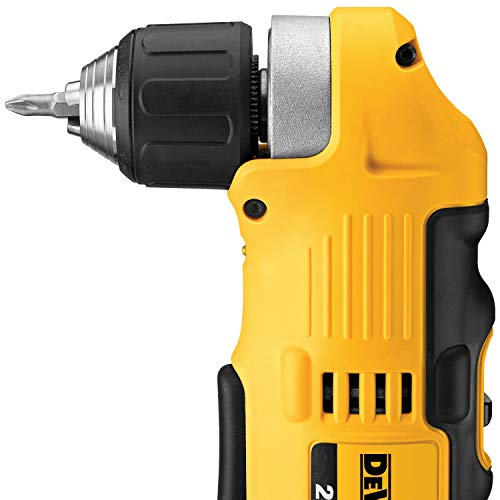 DEWALT 20V MAX Right Angle Cordless Drill/Driver Kit (DCD740C1)