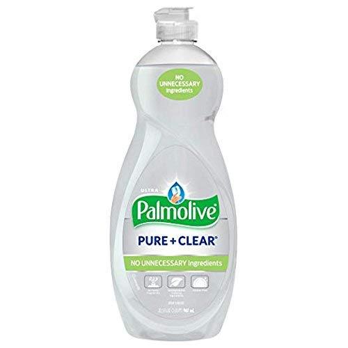 Palmolive Jabón Ultra Líquido para Platos Pure + Clear 32.5oz Pack (3)