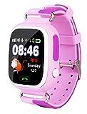 VIDIMENSIO GPS Telefon Uhr Kleiner Affe (pink)