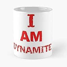 Am Dynamite I Friedrich Funny Floral Coffee Mugs Gifts