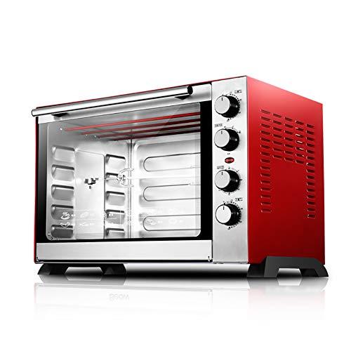 BCXGS 60L Toastoven, oven van roestvrij staal, volautomatische toastoven met 120 minuten timing en meerlaagse bakpositie, fermentatie- en ontdooifunctie