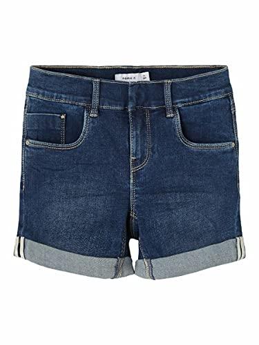 NAME IT Girl Jeansshorts Slim Fit 128Dark Blue Denim