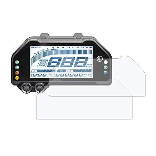 Speedo Angels Bildschirmschutzfolie Tachoschutzfolie für Yamaha R3 / R25 (2019+) 2 x Entspiegelt