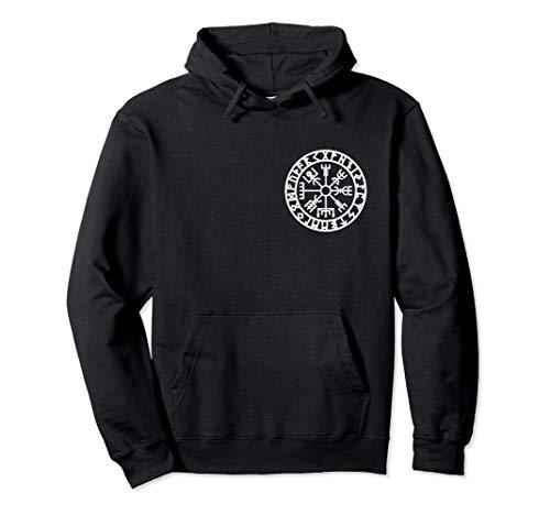 Vegvisir, Viking, boussole, runes, nordique, symbole Sweat à Capuche