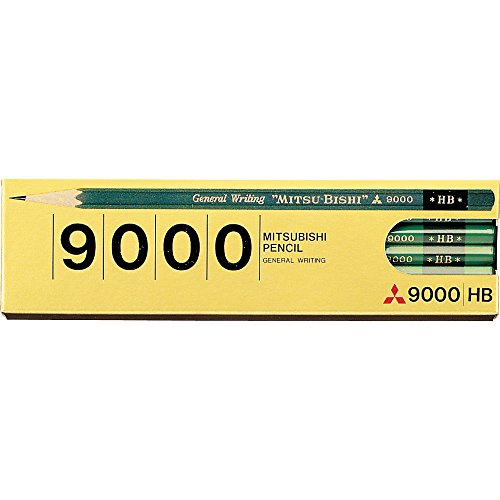 Mitsubishi Pencil pencil office pencil 9000 hardness HB K9000HB
